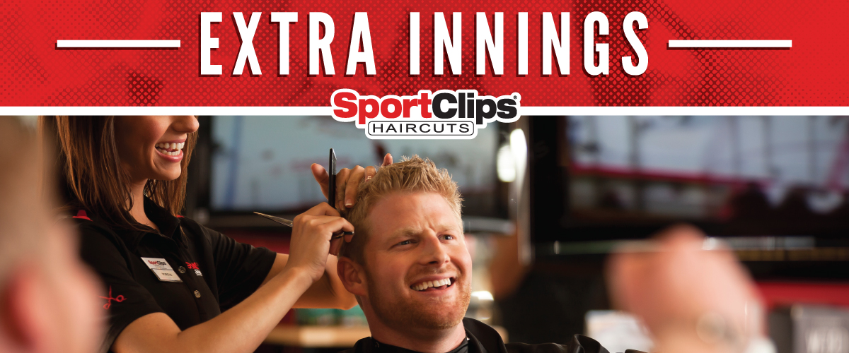 The Sport Clips Haircuts of Middletown Extra Innings Offerings